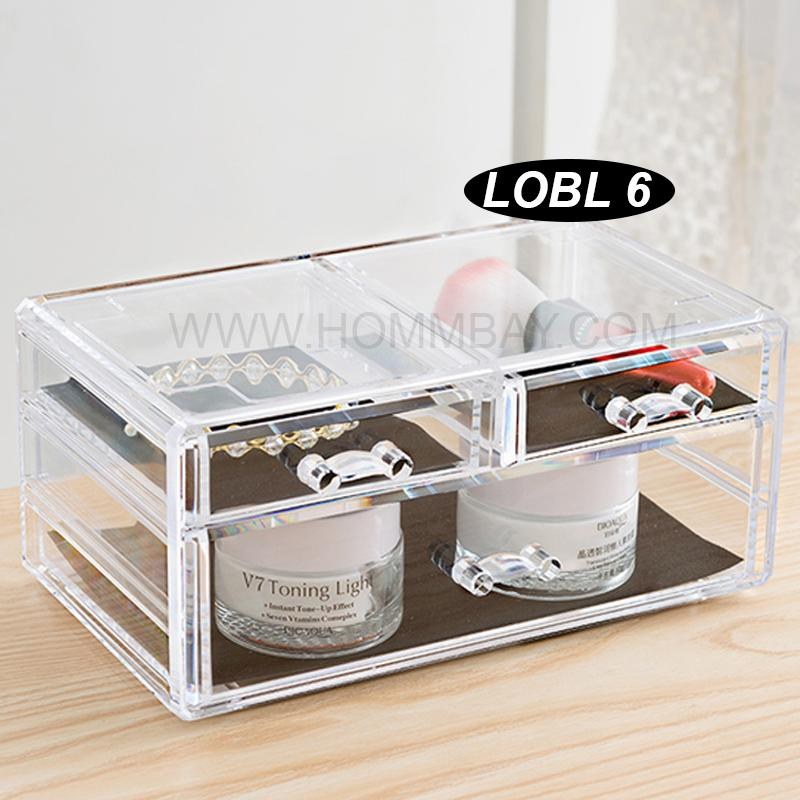 Cheap Makeup Make Up Lipstick Cosmetic Jewellery Jewelry Organiser Organizer Drawer Storage Box Holder I Large I Stackable I Lotl 6101