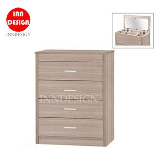 Ronnie Chest Of Drawer with Divider Drawer and Mirror (Free Delivery and Delivery)