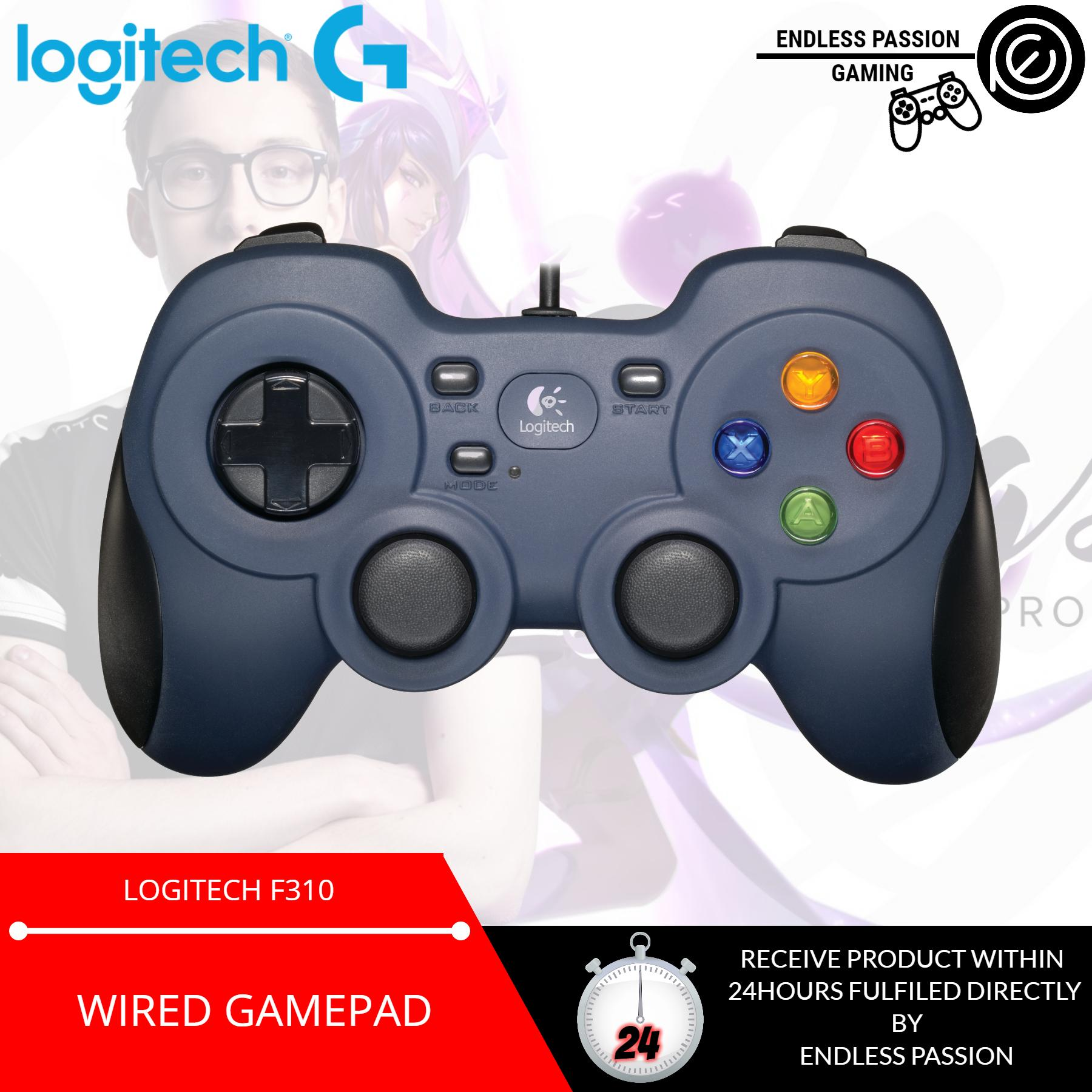 Latest Logitech Gaming Products Enjoy Huge Discounts Lazada Sg F310 Wired Controller Gamepad For Pc And Android Tv