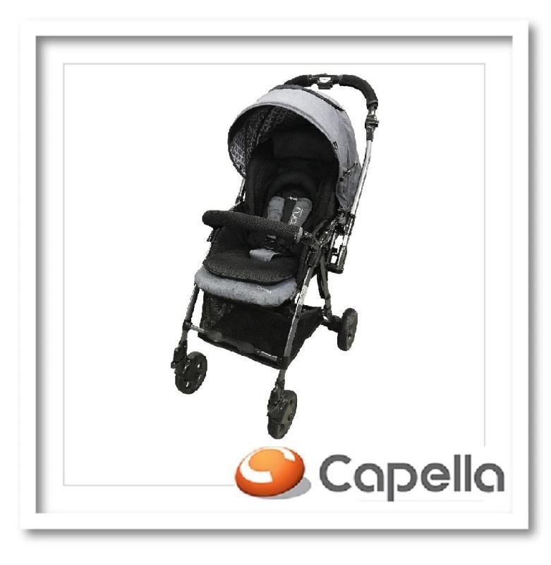 Capella S230F-18 NAV Coni Premium Travel System Stroller-NAVY Singapore