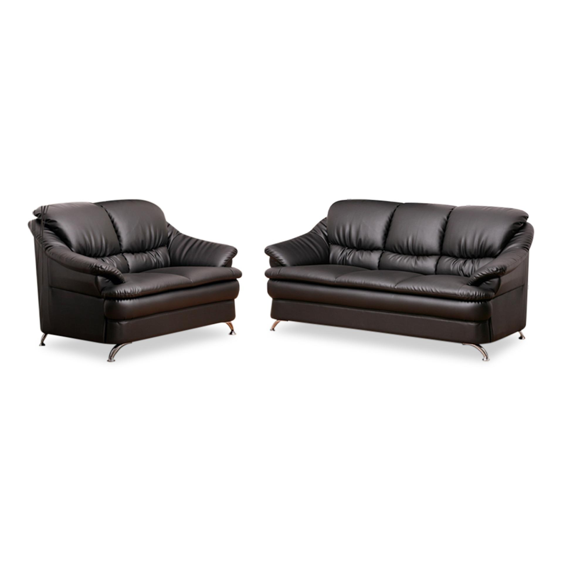 Ana PVC 3+2 Seater Sofa (FREE DELIVERY)(FREE ASSEMBLY)