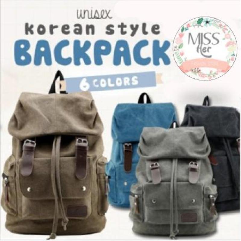 MISSHER ★Unisex Korean Version Shoulder bag Backpack School Bag Unisex backpack Men bag Lady Bag Women Bag BPB-CC01