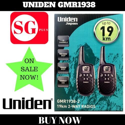 Review Uniden Walkie Talkie Gmr1938 2 19Km Singapore