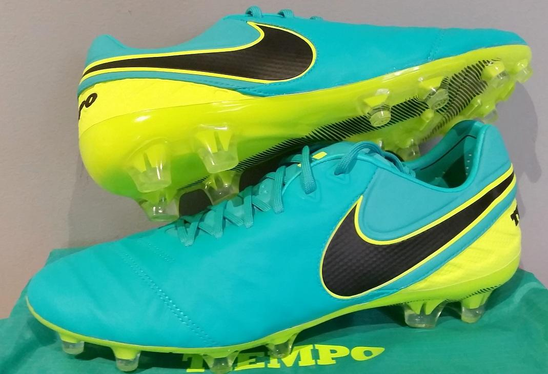 0267d4e9c1d NIKE TIEMPO LEGEND VI FG 1st GRADE FIRM GROUND FOOTBALL SOCCER BOOTS CLEATS  SHOES 819177 307