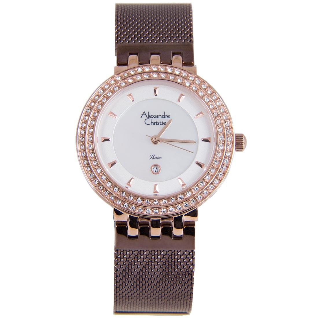 Latest Alexandre Christie Watches Products Enjoy Huge Discounts Ac 6410 Black Strap Men Original Passion Female Business Watch 2651ldbrnsl