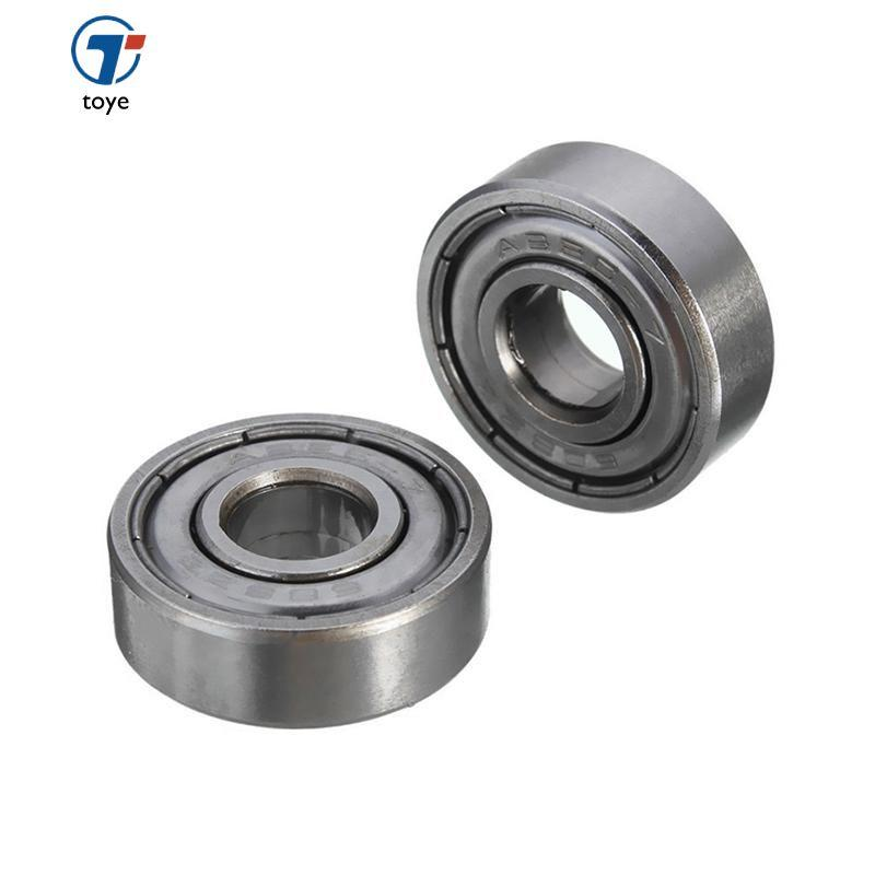 5pcs Durable Carbon Steel 608zz 8*22*7mm Shielded Deep Groove Ball Bearings - Intl By Toye.