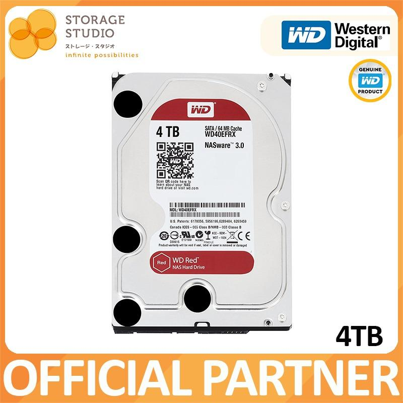 WD RED 4TB NAS Hard Disk SATA 6Gbs 5400RPM 64MB Cache