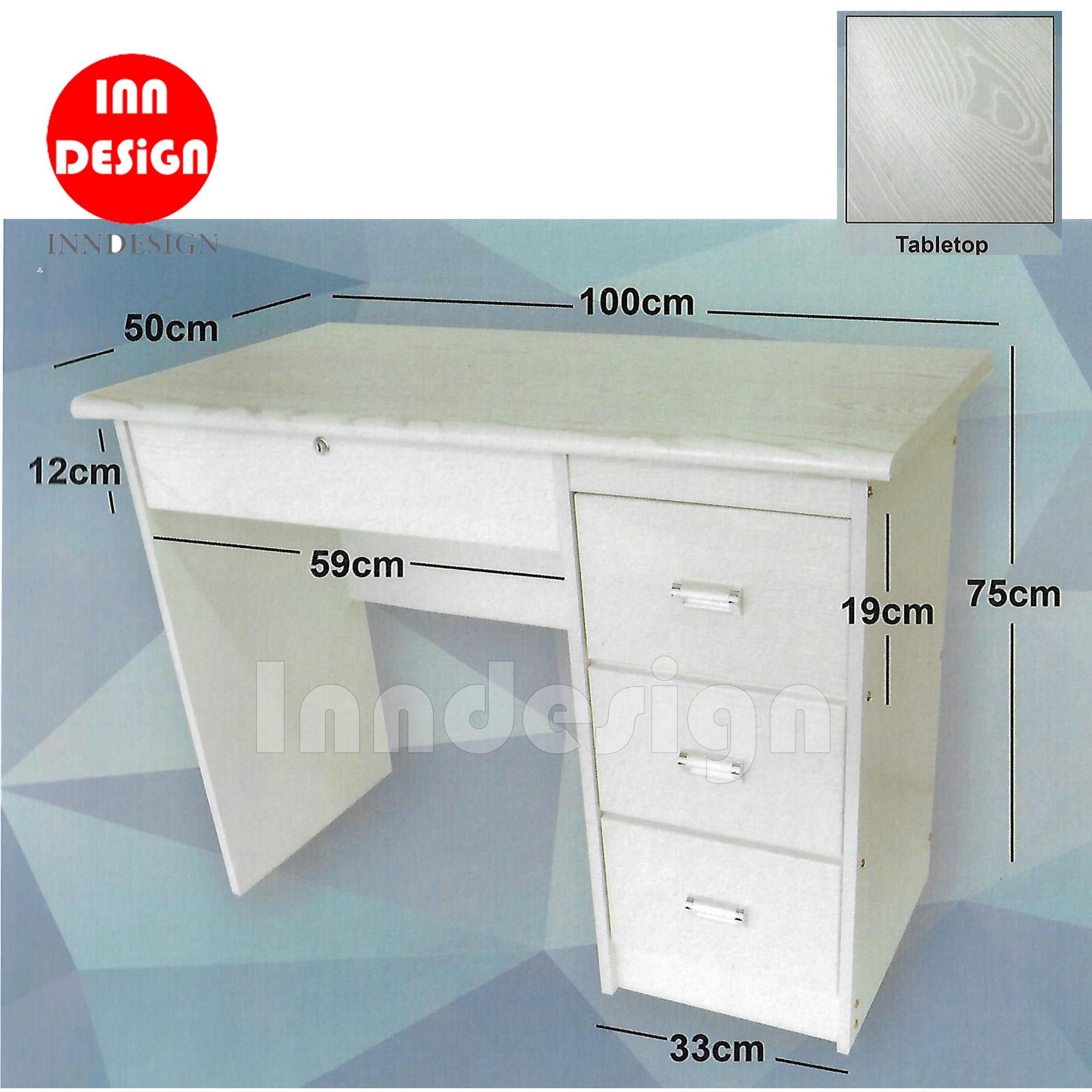 Posland Study Table/Office Table [Free Delivery+Installation]