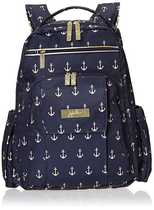 7405ed1cfce4 Ju-Ju-Be Legacy Nautical Collection Be Right Back Backpack Diaper Bag, The