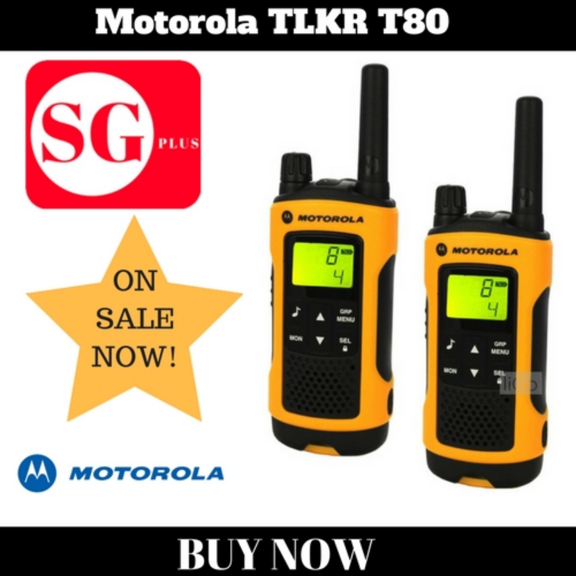 Buy Motorola Walkie Talkie Tlkr T80 Motorola
