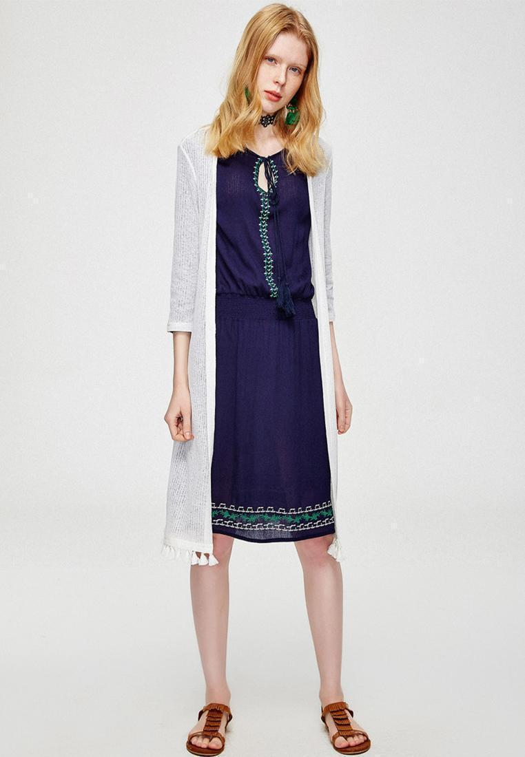 67e42ca1114bcc China. Hopeshow [BEST SELLING] Women Fashion Simple Long Tassels Knitted  Cardigan