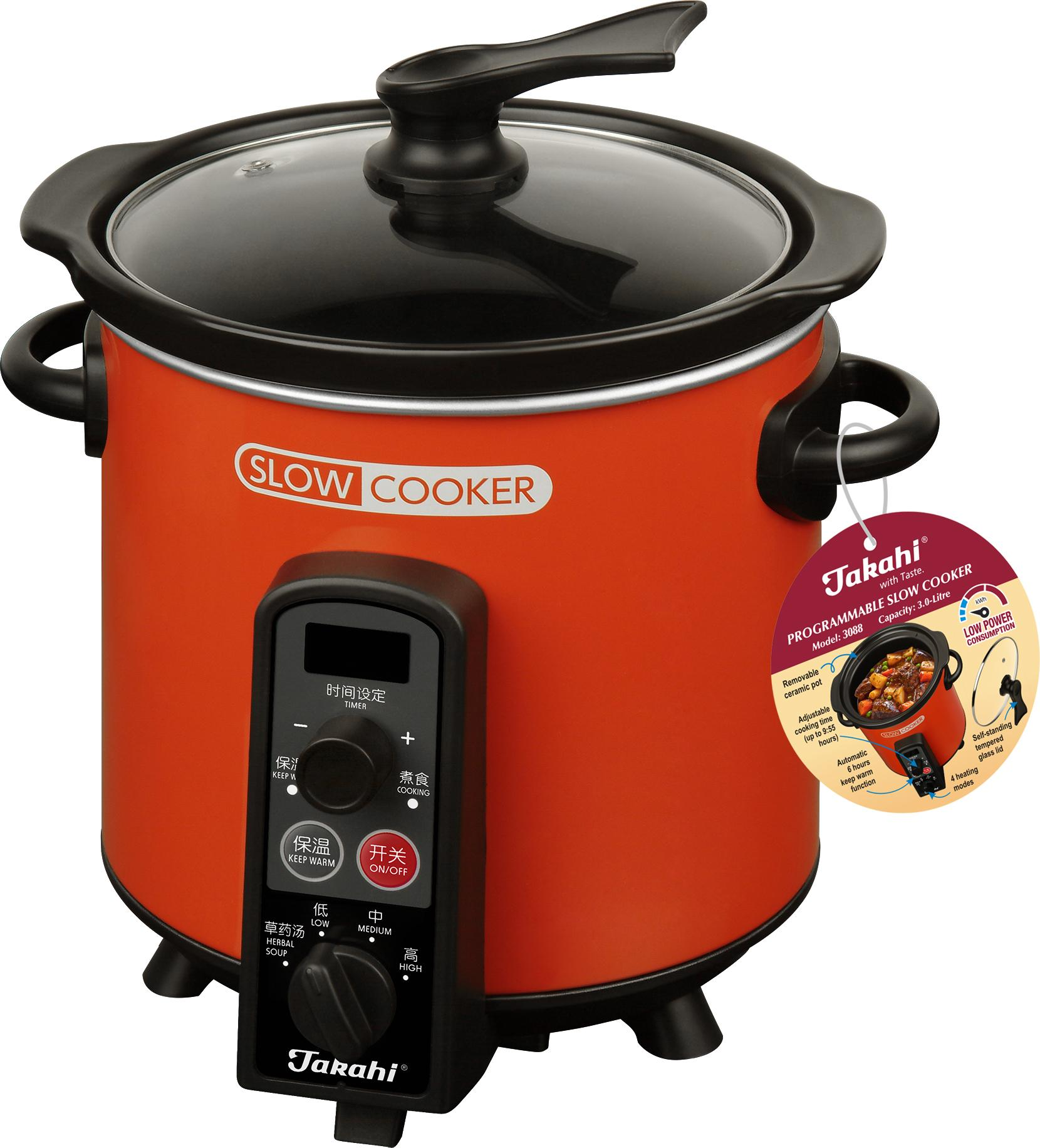 Takahi 3.0L Programmable Slow Cooker 3088