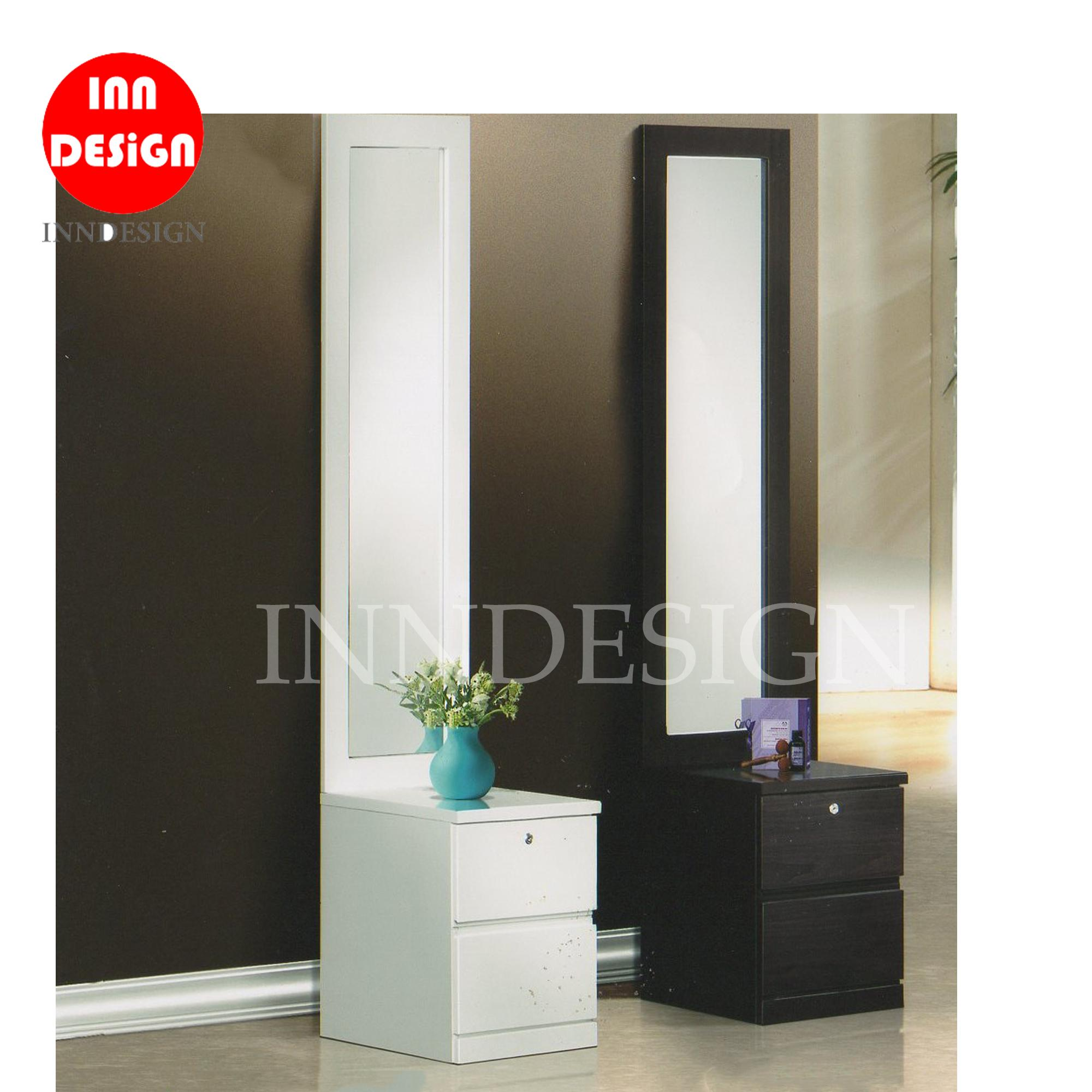 Vicky Dressing Table with Tall Mirror