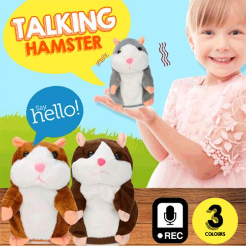 Buy Authentic Talking Hamster Plush Toy Kids Speak Talking Sound Record Toy 3Colors On Singapore