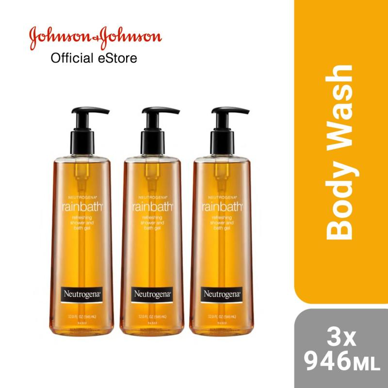 Buy Neutrogena Rainbath Refreshing Shower and Bath Gel 946ml x 3pcs Singapore