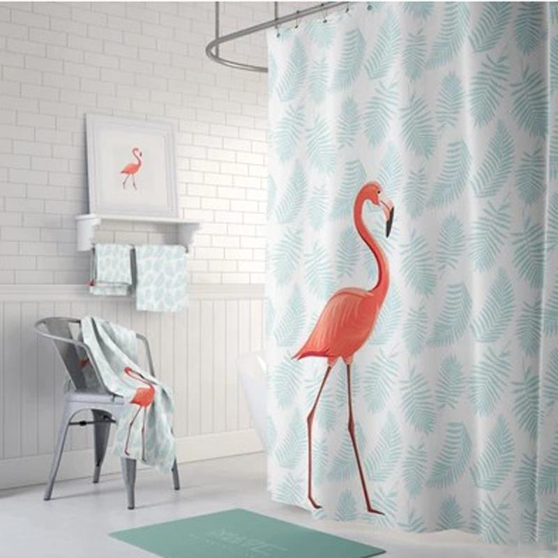 Bathroom Cartoon Waterproof Shower Curtain Cloth Thick Partition Occlusion  Curtain Window Curtain Bathroom Bath mu yu lian