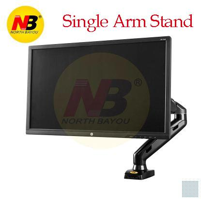 NB F80/F160 PC dual screen monitor stand with retractable lifting up and down adjustment rack dual screen desktop Rotary rack with free usb ports