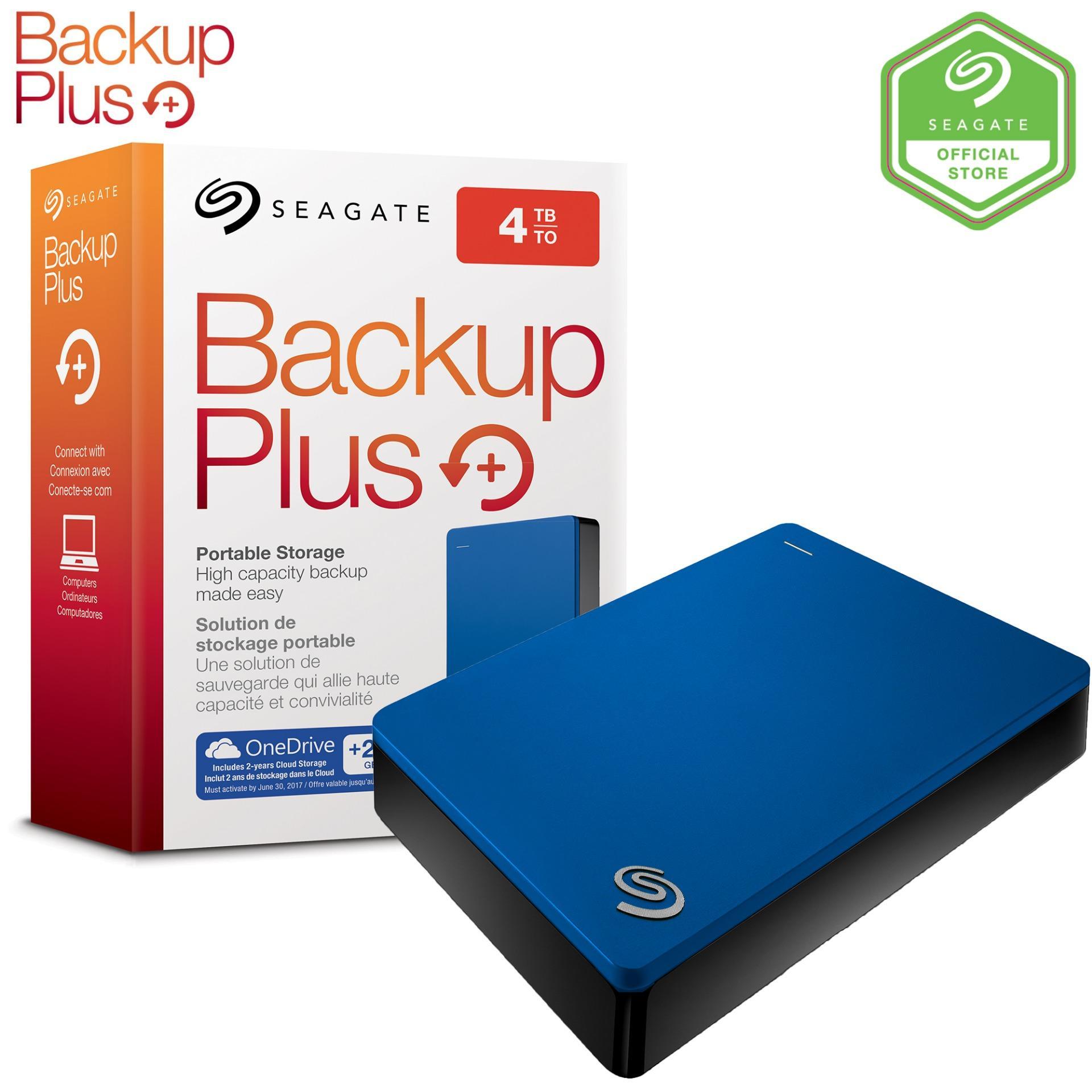 Seagate 4TB Backup Plus Portable Drive USB3.0