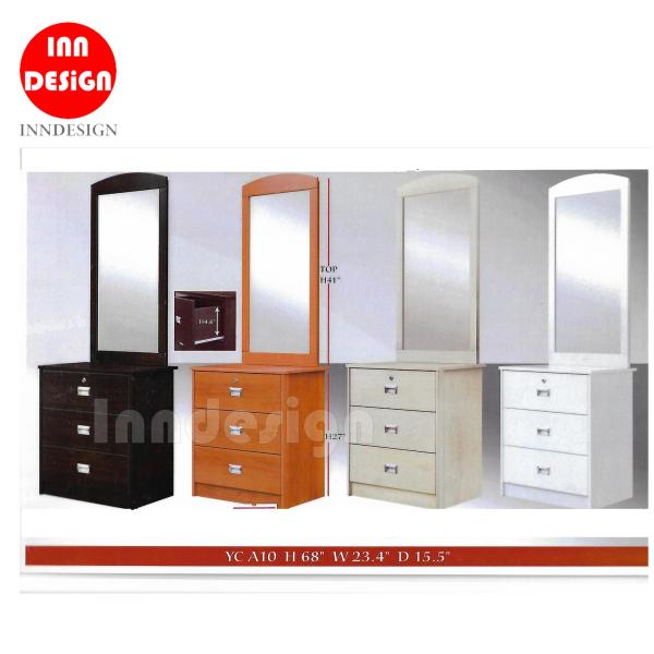 [Delivery Within 3-7 Working Days] Dressing Table (Available in 4 Colours) (Free Delivery and Installation)