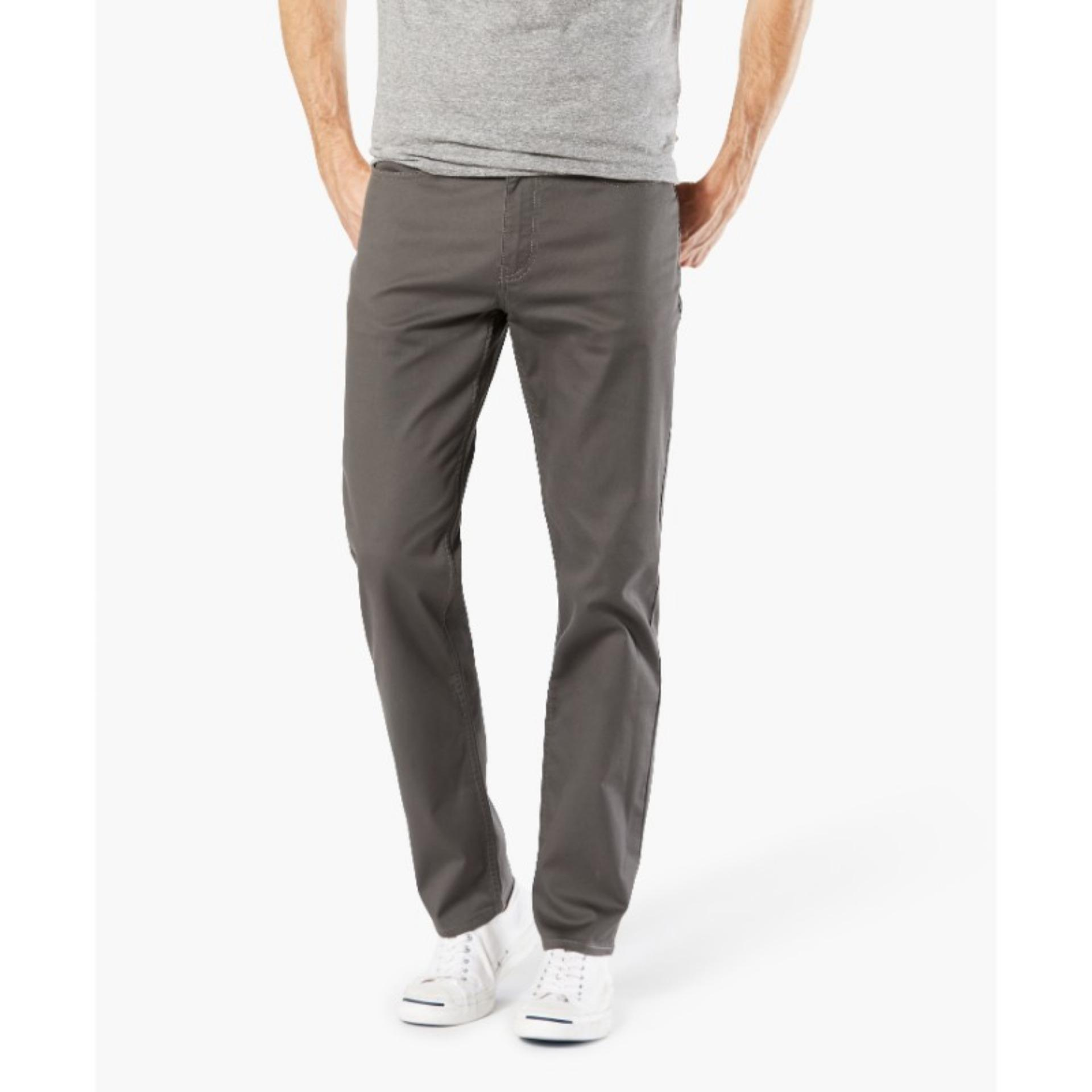 Price Dockers Standard Jean Cut Slim Tapered Pants Storm On Singapore