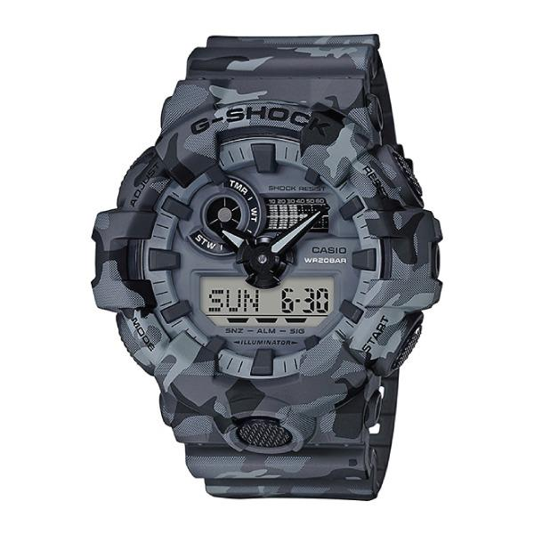 Sale Casio G Shock Special Color Model Grey Camouflage Resin Band Watch Ga700Cm 8A Ga 700Cm 8A Singapore Cheap