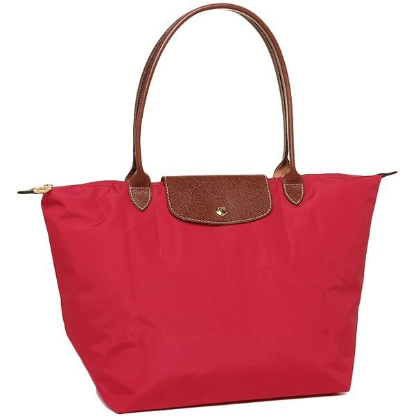 Best Deal Longchamp Le Pliage Nylon Tote Large 1899 Red Garance