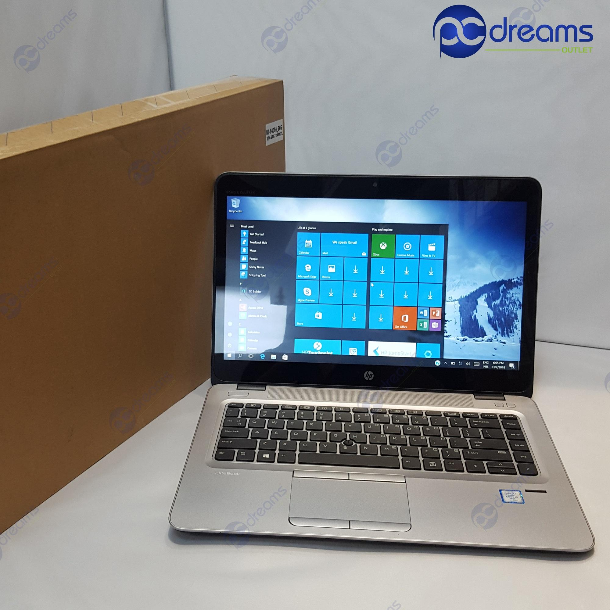 BEST LOBANG! HP ELITEBOOK 840 G3 (L3C65AV) i5-6300U/16GB/256GB PCIe NVMe SSD [Premium Refreshed]