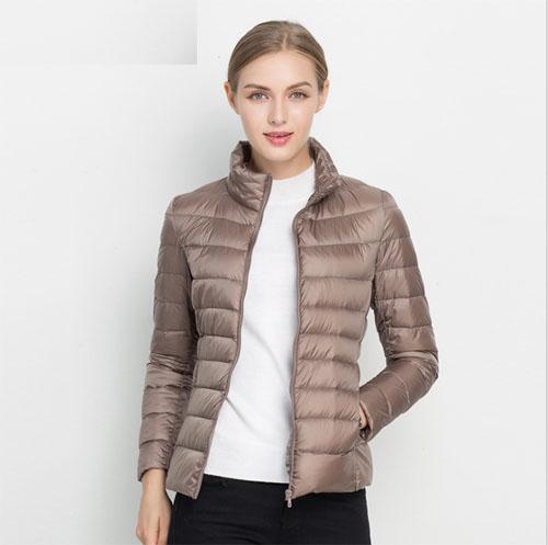 d3cbff0401f Women Ultra Light Duck Down Jacket Winter Jacket