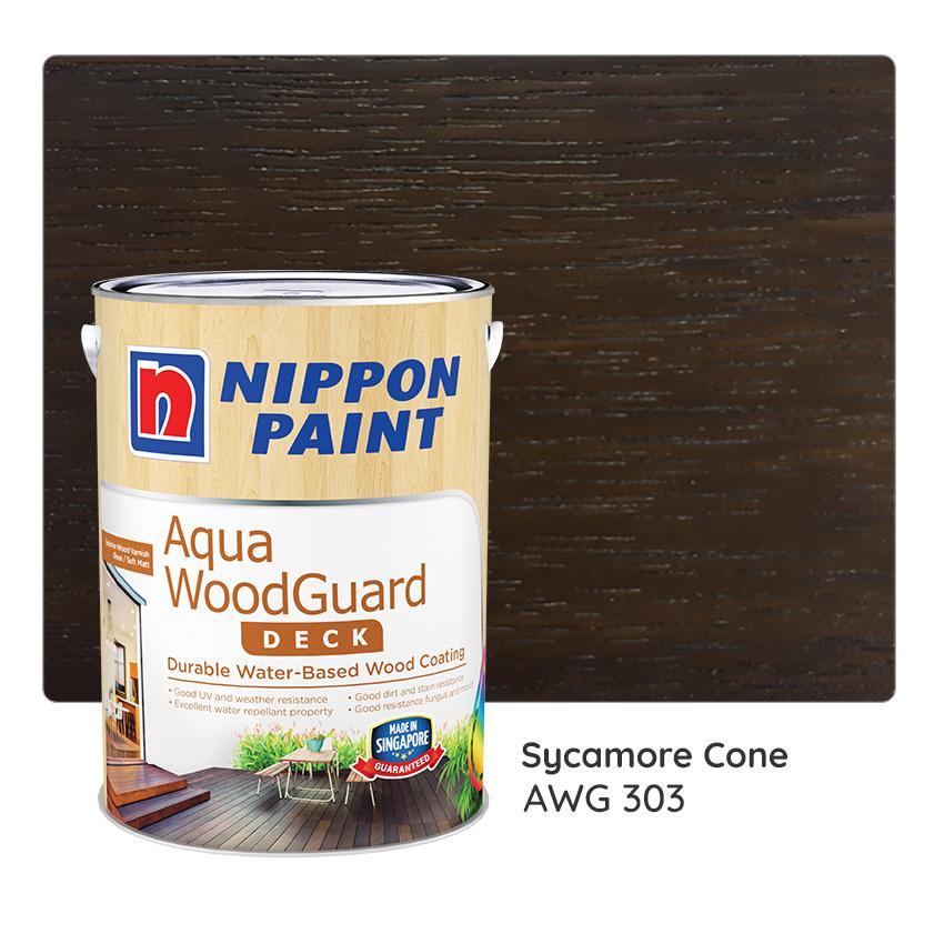 Nippon Paint Aqua WoodGuard AWG 303 1L