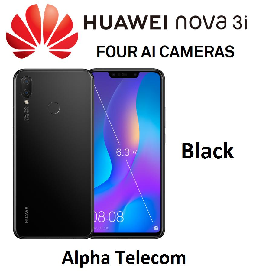 Huawei Nova 3i (4GB RAM/128GB) Singapore Warranty Telco Set Unseal** FREE  TEMPERED GLASS **