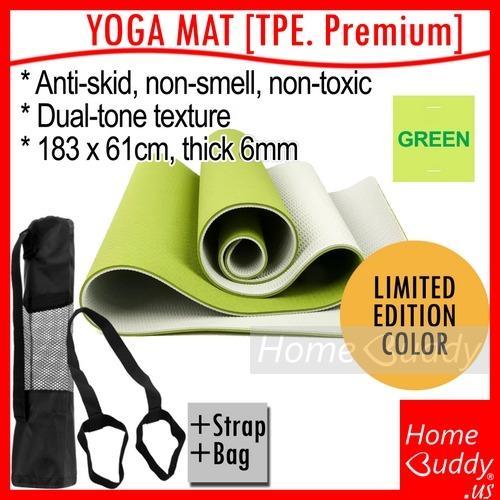 Sale Yoga Mat Tpe Strap Bag High Density Tpe Dual Tone Ready Stocks Sg Reach You 2 To 4 Work Days Homebuddy Acev Pacific On Singapore