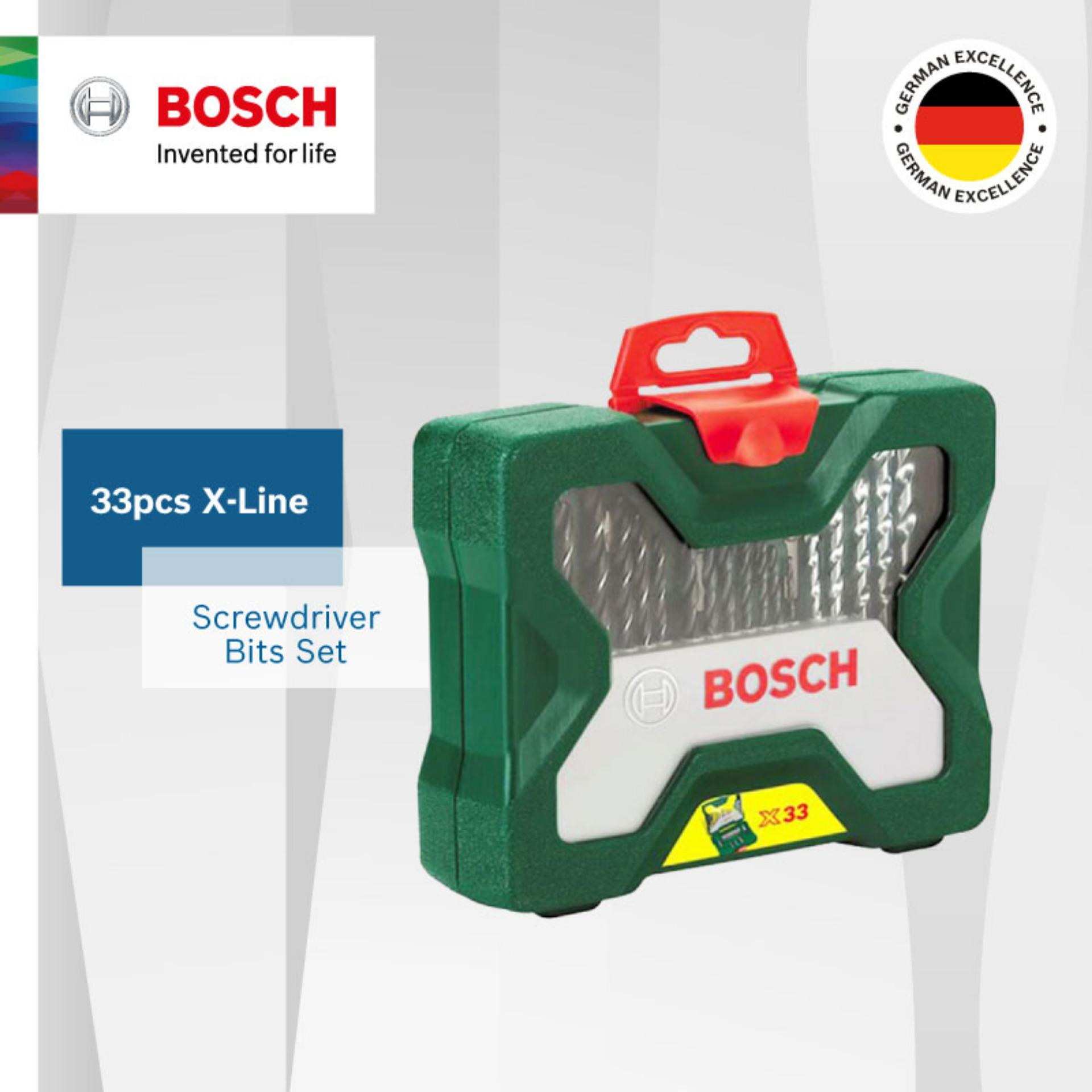 Price Compare Bosch X Line 33 Pieces Bit Set
