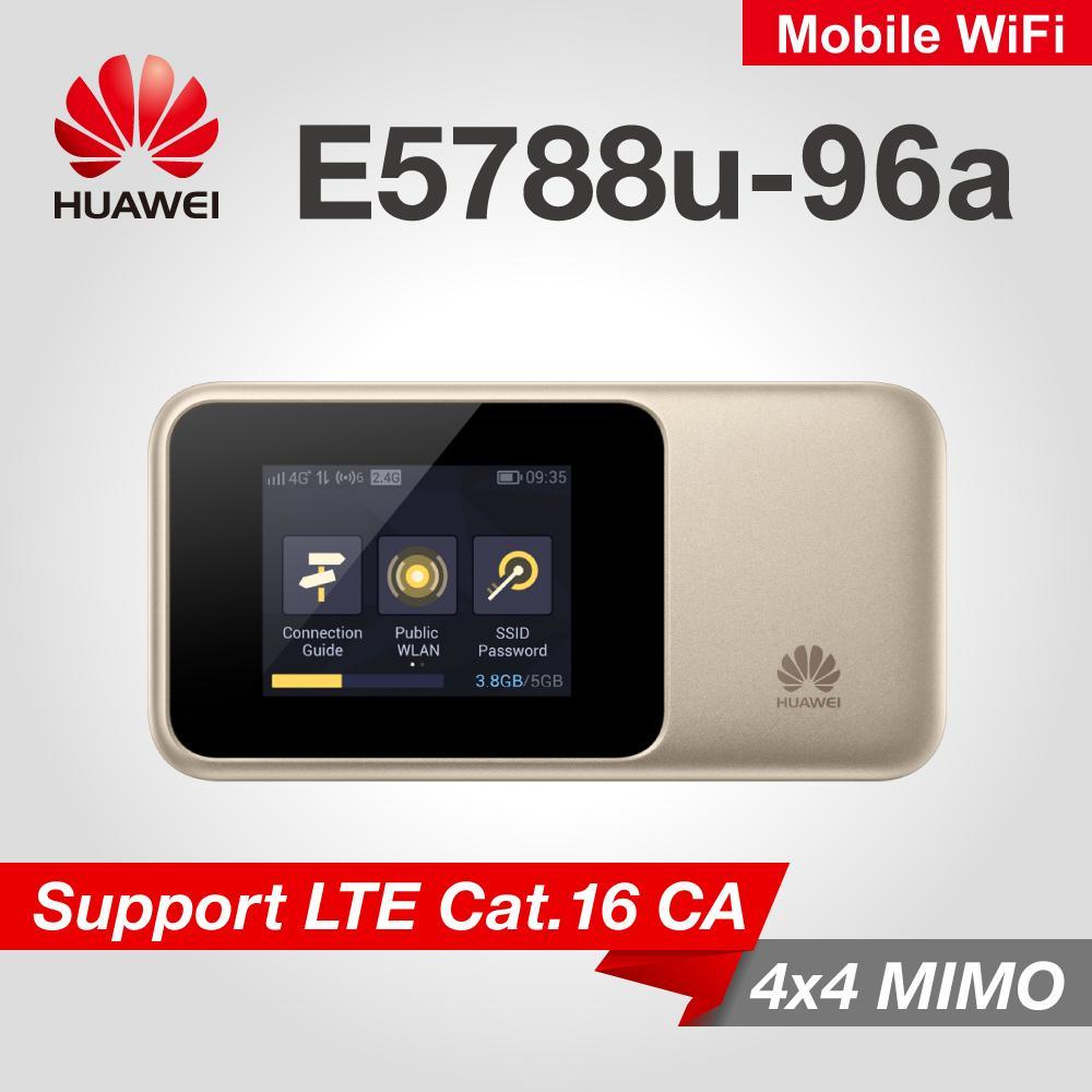 Buy Mobile Broadband Device Modem Huawei Mifi E8372 150mbps E5788 1gbps 4g Cat 16 Lte Wifi Router Portable Hotspot The