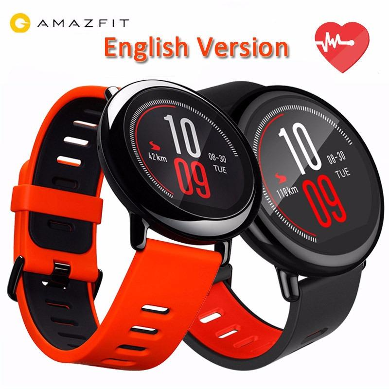 Original Xiaomi Huami Watch Amazfit Pace Gps Running Bluetooth 4 Sports Smart Watch Export Reviews