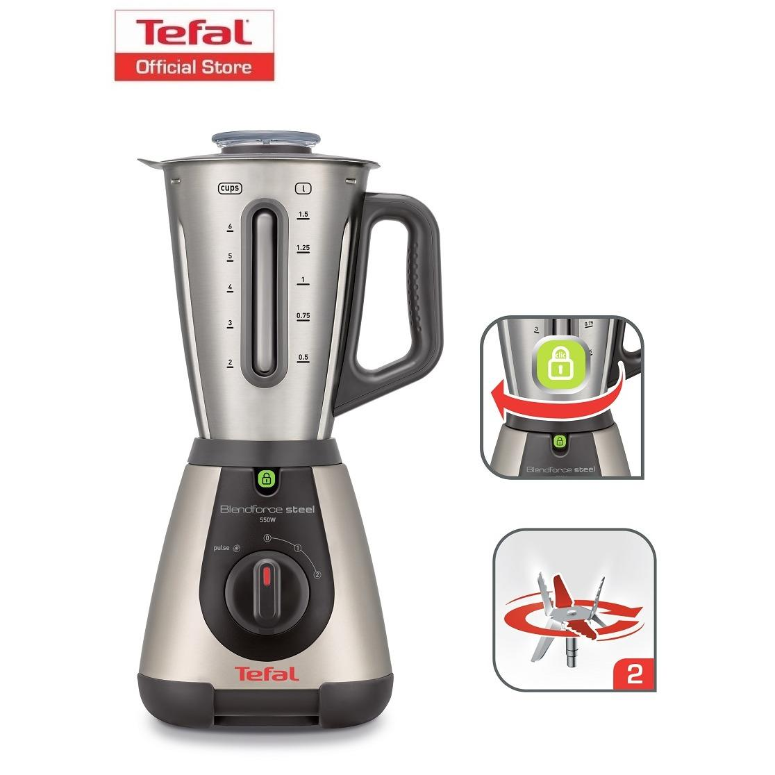 Where To Shop For Tefal Blendforce Stainless Steel Blender Bl320A