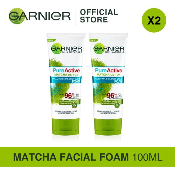 Buy [Bundle of 2s] Garnier Pure Active Matcha Foam 100ml Singapore