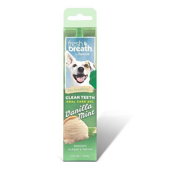 Tropiclean Vanilla Mint Clean Teeth Oral Care Gel For Dogs By Singpet.