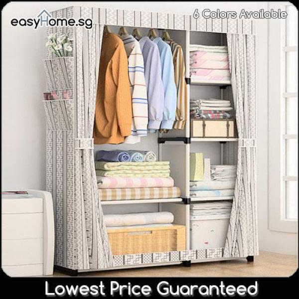 Wardrobe GY18 - Clothes Rack/ Closet / Hanger Shelves Storage