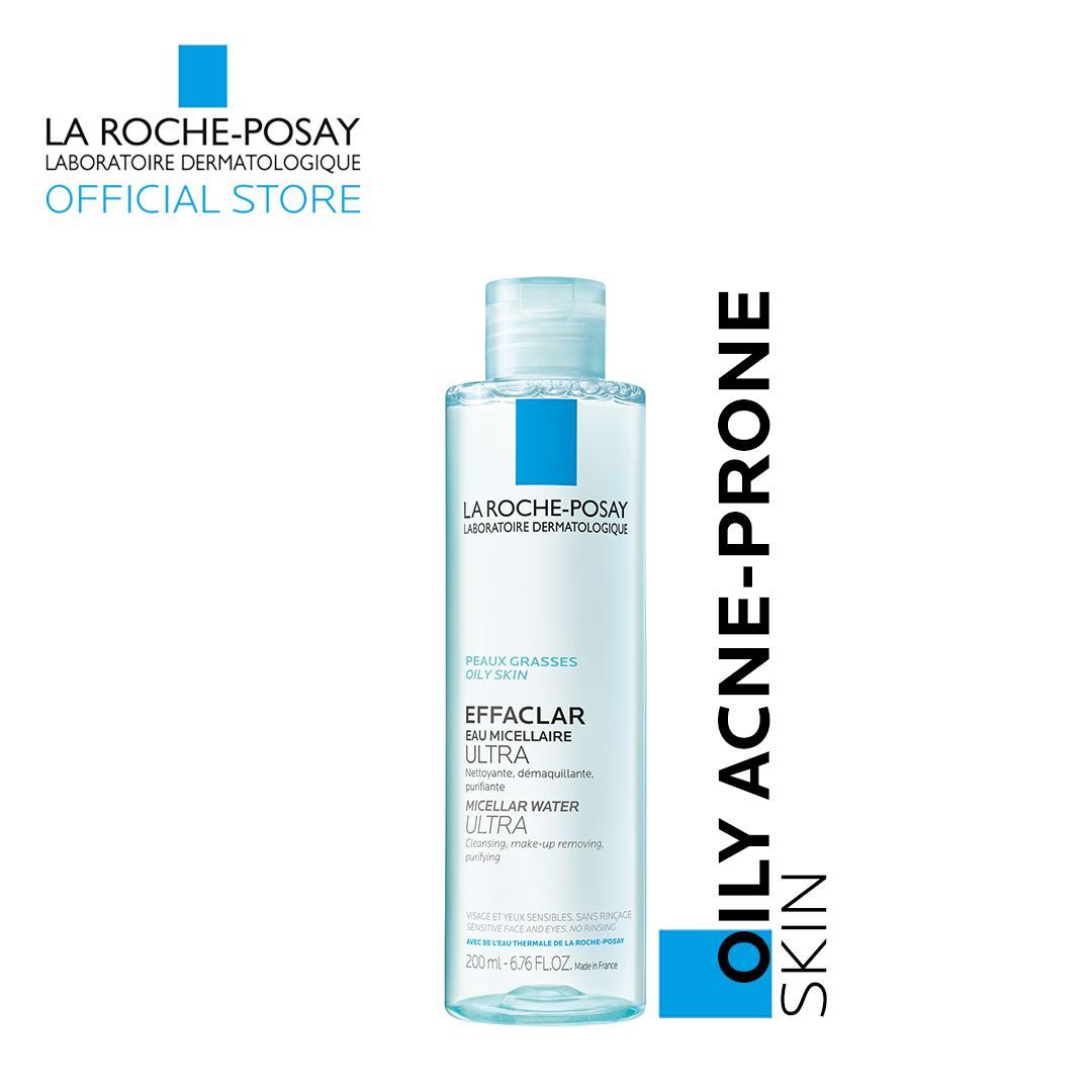 Effaclar Micellar Solution Makeup Remover 200ml [oily, Acne-Prone Skin] By La