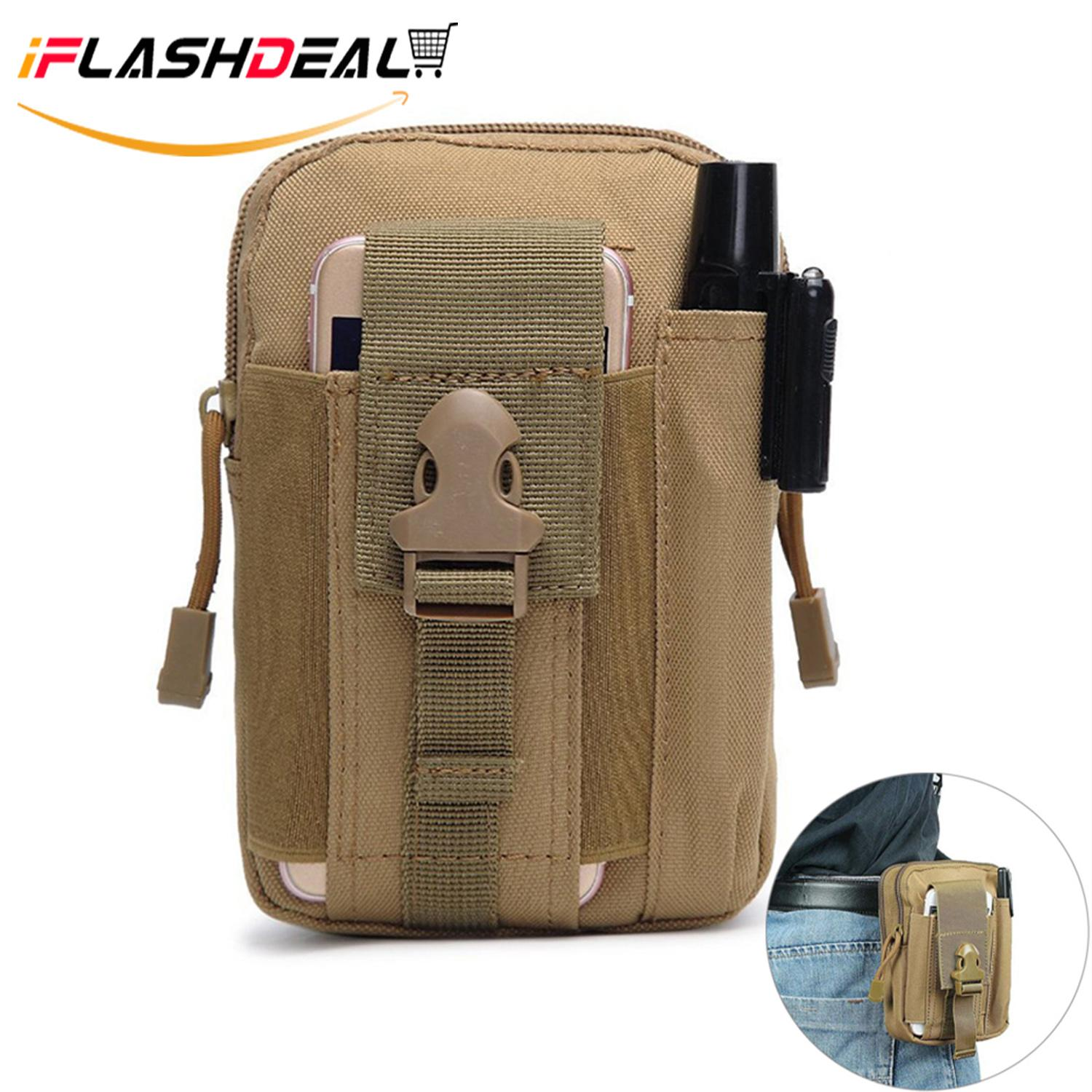 fcae71785b9f iFlashDeal Tactical Molle Pouch Compact EDC Utility Gadget Belt Waist Bag  Pack Pocket Organizer with Cell