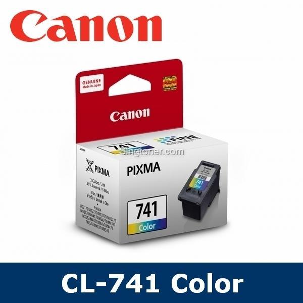 [original] Canon Cl-741/cl741/cl 741 Black Color Ink Cartridge For Pixma Mg2170 Mg2270 Mg3170 Mg3270 Mg3570 Mg3670 Mg4170 Mg4270 Mx377 Mx397 Mx437 Mx457 Mx 477 Mx517 Mx527 Mx537 Ts5170 E500 By Singtoner.