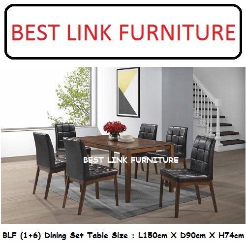 BEST LINK FURNITURE BLF Sudoku (1 + 6) Dining Set