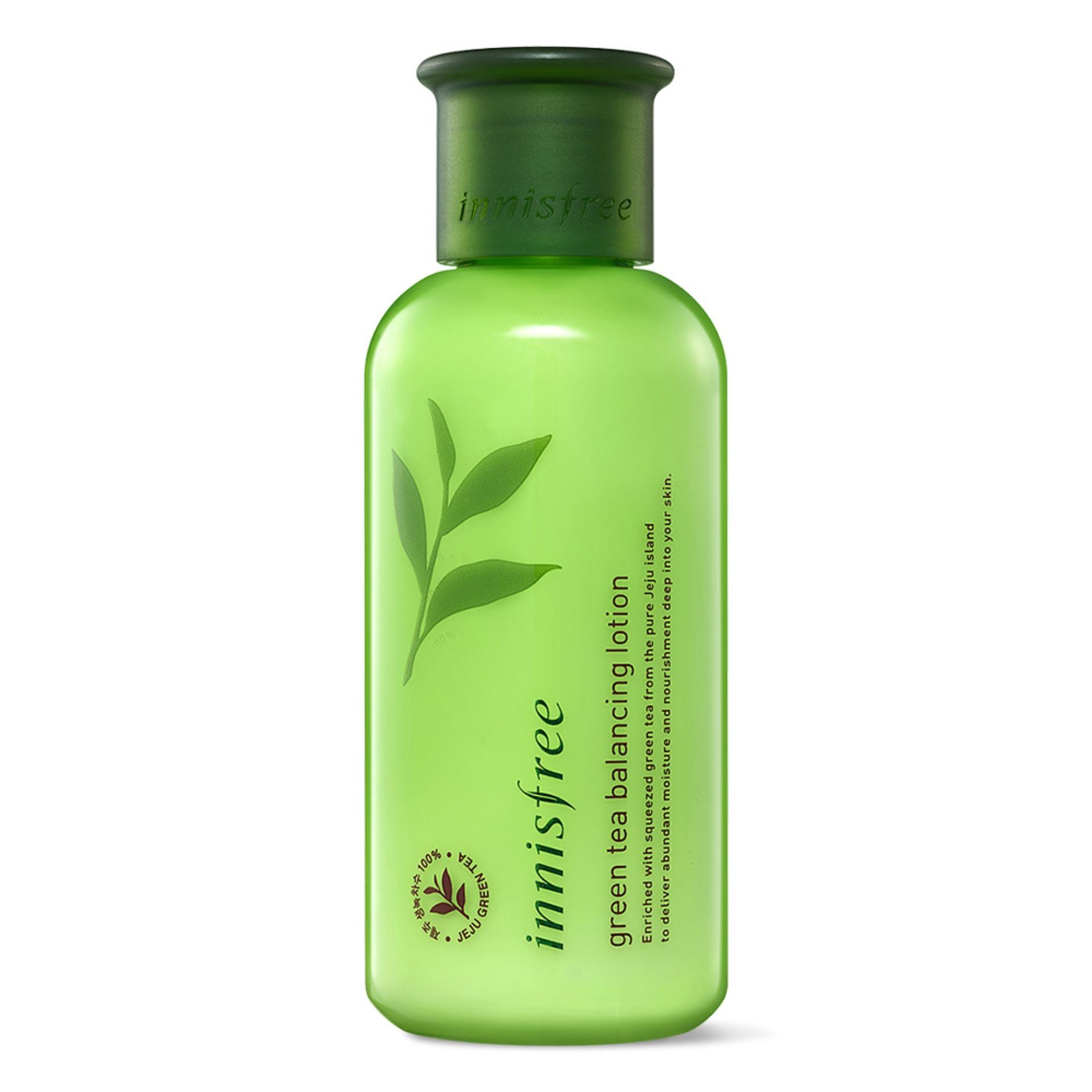 Compare Innisfree Green Tea Balancing Lotion 160Ml