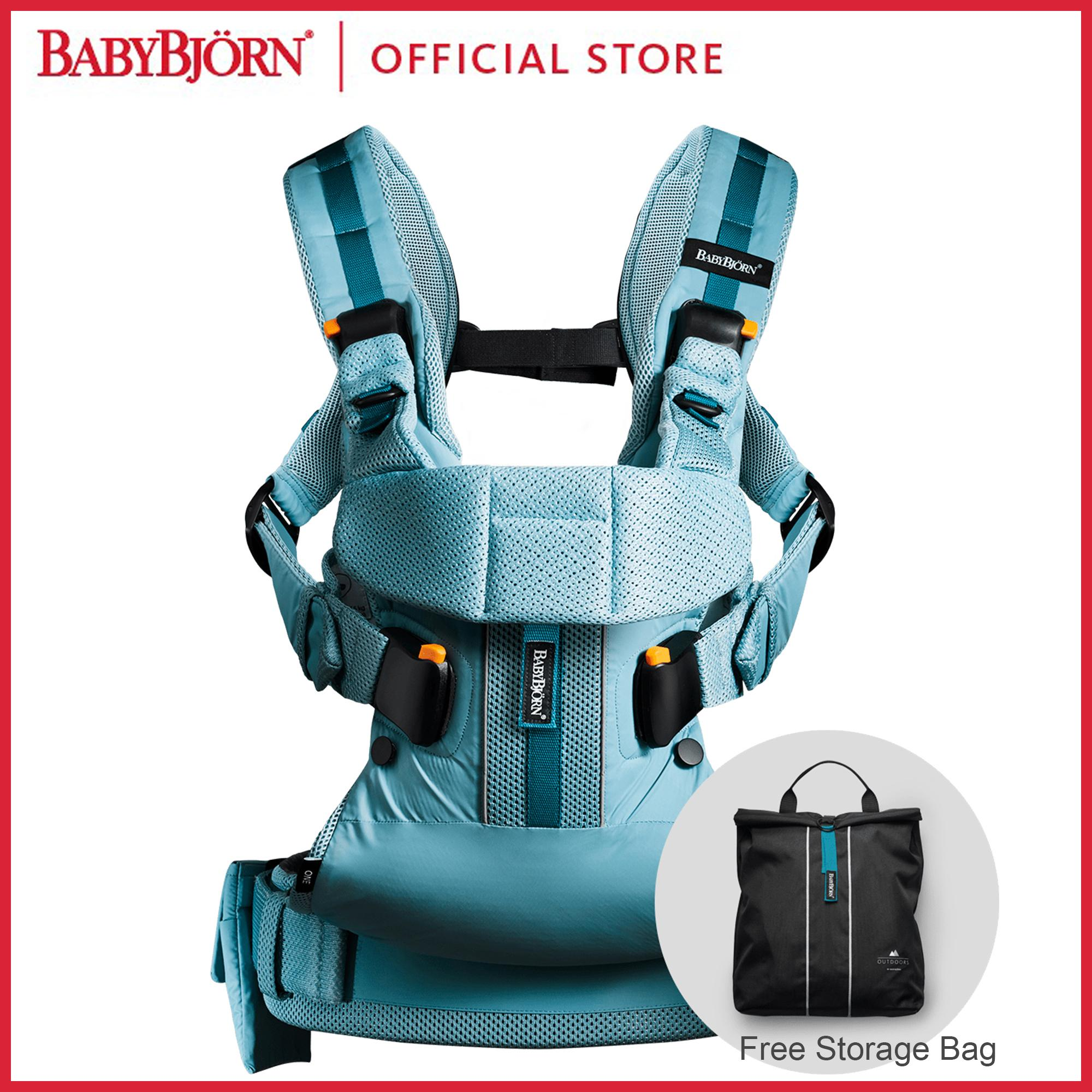 9c451c31901 BabyBjörn Baby Carrier One Air Blue Mesh - intl Singapore