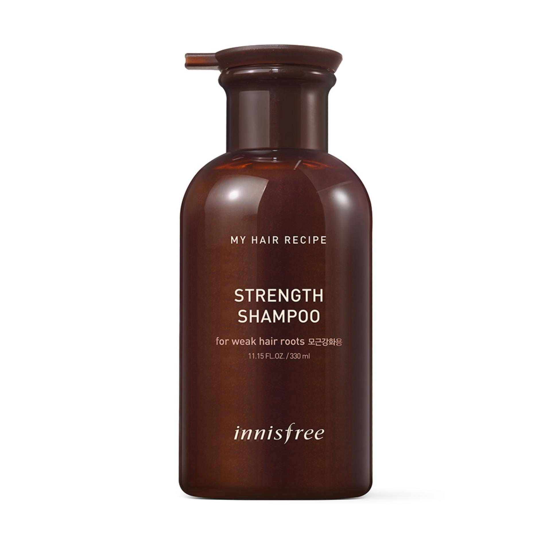 Buy Innisfree My Hair Strength Shampoo 330Ml Online Singapore