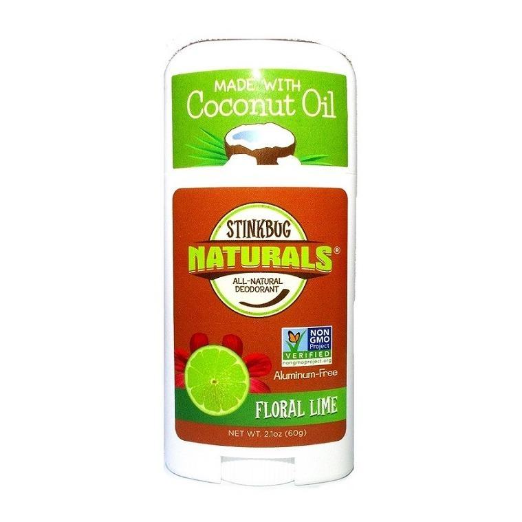 Discount Floral Lime Organic Deodorant 2 1Oz 60G Stinkbug Naturals Singapore