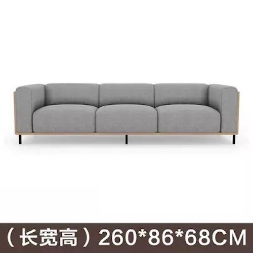 Discount Umd Nordic Style Designer Fabric Sofa 1518C 4 Seater Light Grey Umd Life Singapore