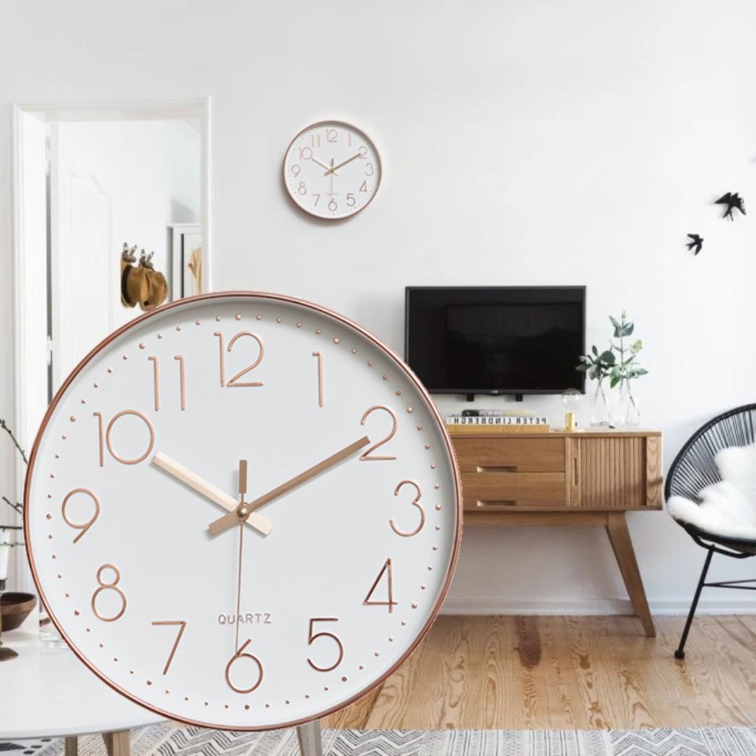 DESIGNER SILENT WALL CLOCK DECOR HOME DIGITAL DIY DECORATION WATCH TIMER WOODEN