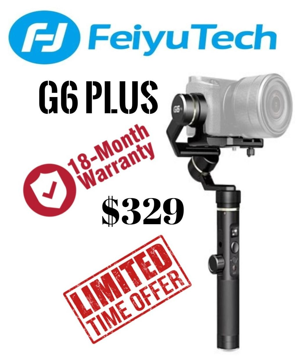 Buy Feiyu Camera Accessories Monopods Lazada Spg 3 Axis Handheld Steady Gimbal For Smartphones Tech G6 Plus 3axis Splash Proof Stabilizer Cameras Mirrorless Gopro
