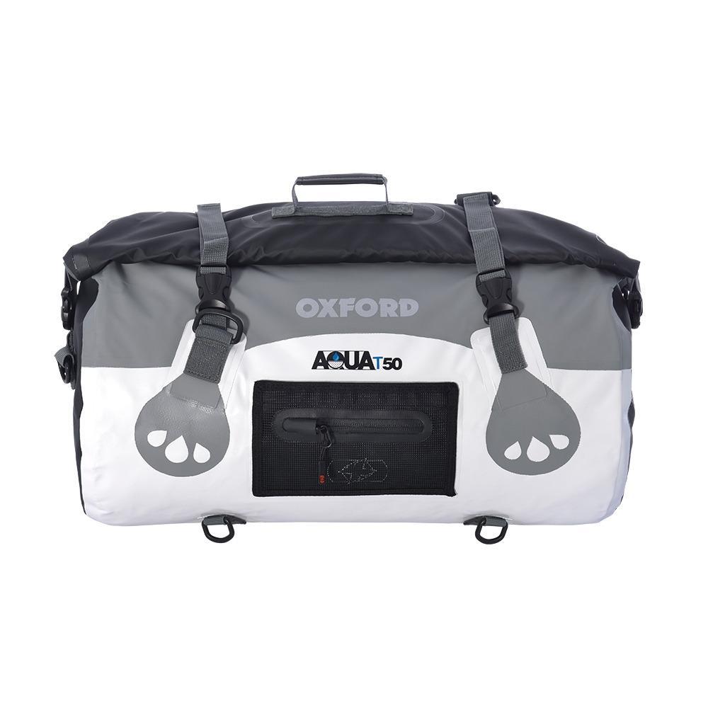 Oxford Aqua T-50 Roll Bag - White/Grey
